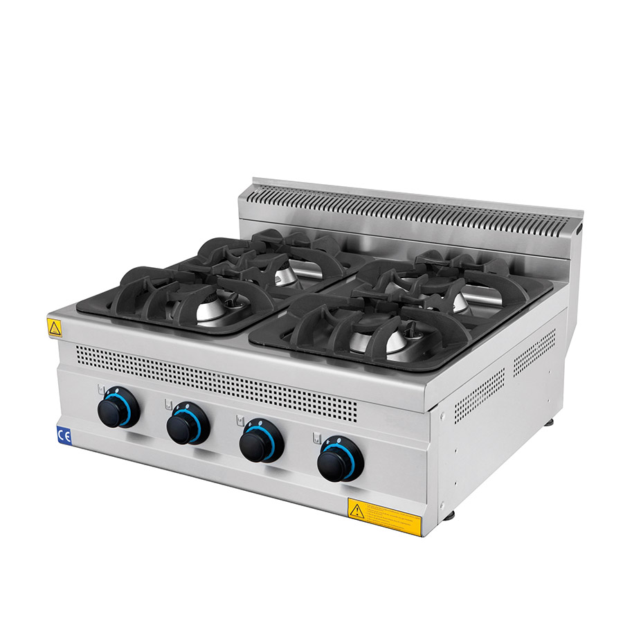 Gas Cooker 4 Burners