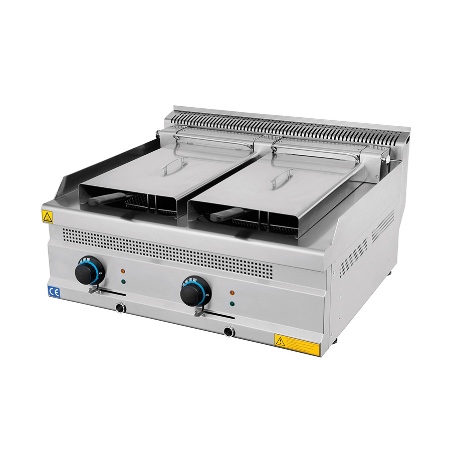Electric Fryer 12+12 Lt