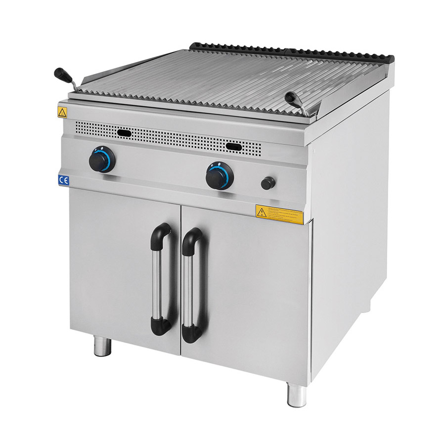 Lavastone Grill With Cupboard