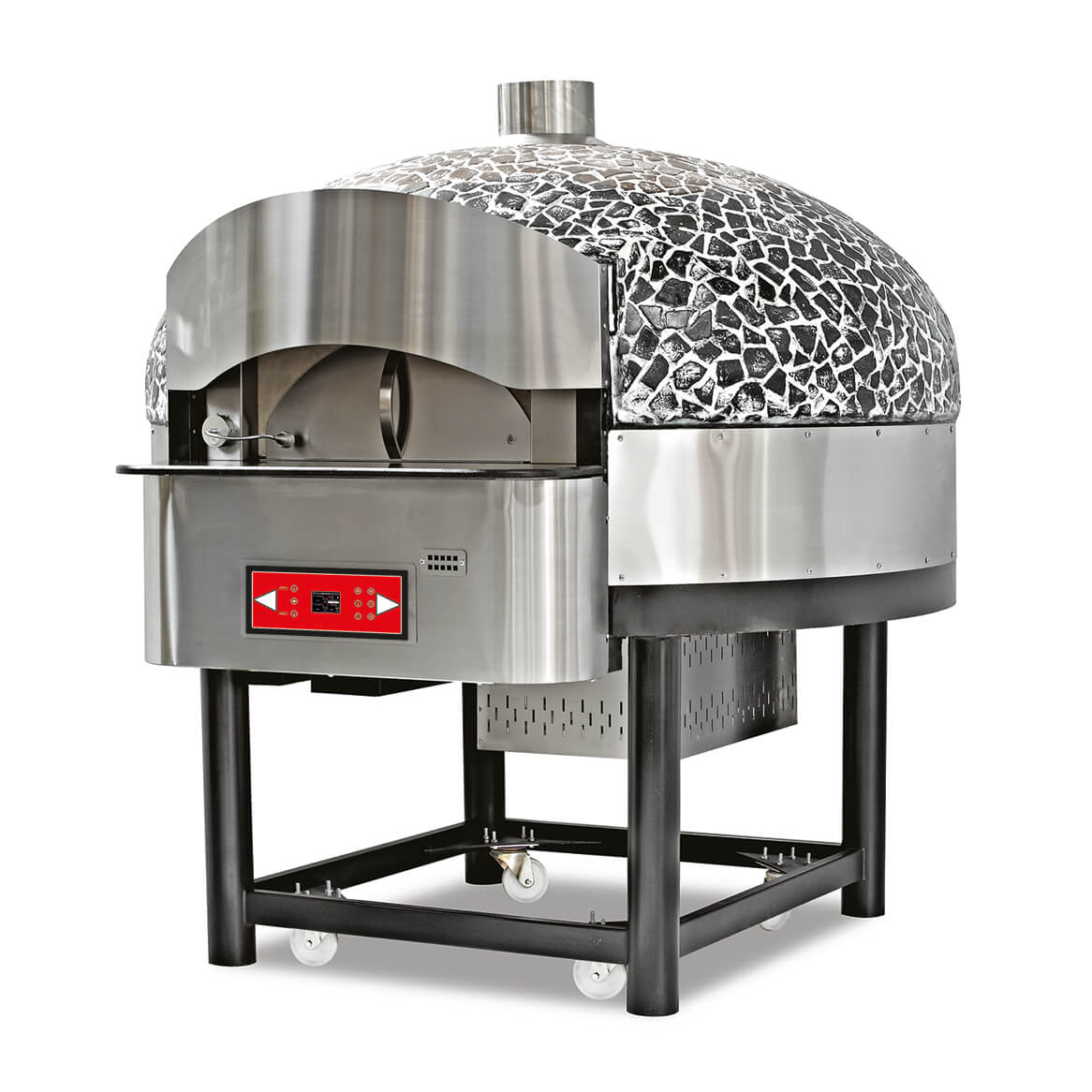 ROTATING GAS PIZZA OVEN (6 Pizzas)